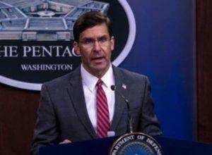 Трамп отправил в отставку главу Пентагона