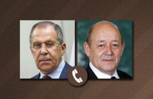 Глава МИД наших лжесоюзников Калантаров позвонил коллеге во Францию