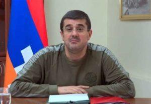 Араик Арутюнян призвал жителей Арцаха не участвовать в протестных акциях в Ереване и вернуться домой