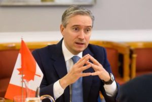 Мы продолжаем поддерживать армянский народ: министр иностранных дел Канады