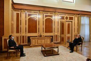 Президент Армен Саркисян провел встречу с депутатом НС Арманом Бабаджаняном