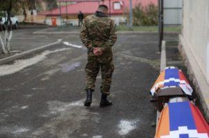 Минздрав Армении сообщил о более 2300 погибших в войне в Карабахе