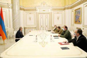 Вместо того, чтобы застрелиться, Пашинян и прочие продолжают обсуждать ситуацию в Арцахе