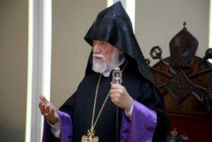 Католикос Арам I призвал отказаться от Соглашения по Карабаху