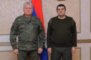 Просравший Арцах Арутюнян принял военного прокурора оккупантов