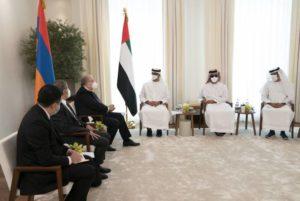 """""""Британская королева"""" Саркисян и наследный принц Абу-Даби типа обсудили вопросы сотрудничества"""