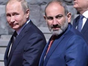 Обвинения в адрес Пашиняна о каком-то предательстве не имеют под собой никаких оснований – Путин