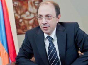 Ара Айвазян назначен министром иностранных дел Армении