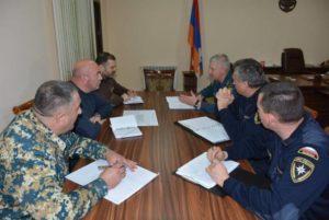 По предложению МЧС РФ в Арцахе создана межведомственная комиссия по оценке ущерба войны