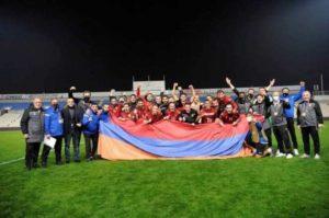 Лига наций. Сборная Армении победила и заняла первое место в группе