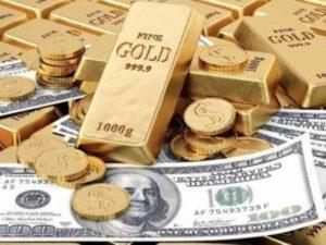 Цена на золото снижается на укреплении доллара