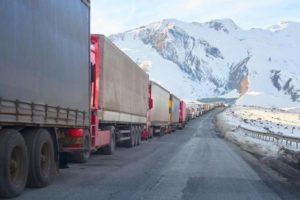 Военно-Грузинскую дорогу закрыли из-за непогоды