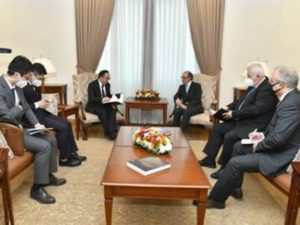 Глава МИД Армении принял новоназначенного посла Китая