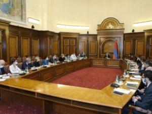 Состоялось заседание рабочей группы по противодействию гуманитарной катастрофе в Арцахе