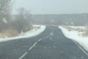 На дорогах Армении туман, местами снег