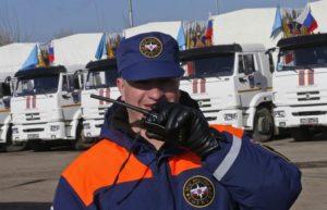Вторая колонна МЧС с гуманитарным грузом выдвинулась из Ростовской области в Карабах