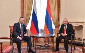 Министры ЧС Армении и России обсудили перспективы сотрудничества в новых реалиях