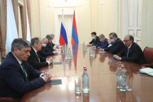 Состоялась встреча министров иностранных дел Армении и России