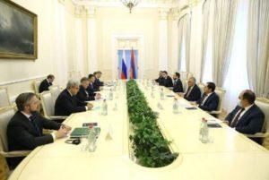 Армения и РФ обсудили программу восстановления нормальной жизнедеятельности в Арцахе