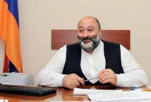 Вараздат Карапетян подал заявление об отказе от депутатского мандата