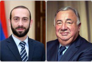 Председатель парламента Армении поблагодарил спикера Сената Франции