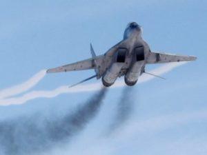 Истребитель МиГ-29 ВМС Индии потерпел катастрофу в Аравийском море