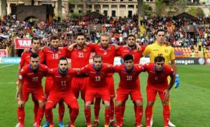 Сборная Армении по футболу улучшила свои позиции в рейтинге ФИФА