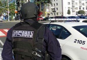 В Тбилиси преступник в маске ограбил экспресс-филиал «Банка Грузии»