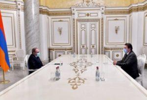 Никол Пашинян продолжает встречи с представителями бизнес-сообщества