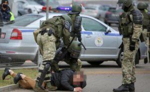 В Минске и других городах Беларуси проходят задержания и разгоны участников акций протеста