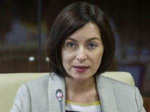 Санду выступила за полный вывод миротворцев РФ из Приднестровья