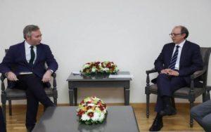 Глава МИД Армении и госсекретарь МИД Франции обсудили вопрос защиты прав народа Арцаха