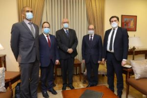 Глава МИД Армении принял представителей высокопоставленной делегации Совета Европы
