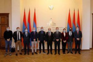 Госсекретарь МИД Франции обсудил с Николом Пашиняном некоторые пункты заявления о прекращении боевых действий в Арцахе