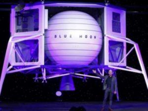 Космическая компания Джеффа Безоса впервые отправит на Луну женщину