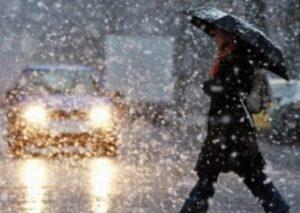 В Ноемберяне и Дилижане идет снег