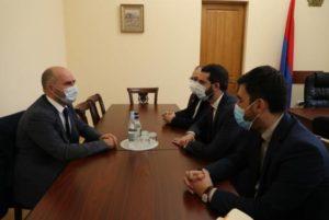 Армянские парламентарии встретились с главой делегации Дании в ПАСЕ
