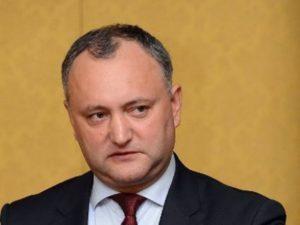 Додон заявил, что в Молдавии фактически началась кампания по досрочным выборам в парламент