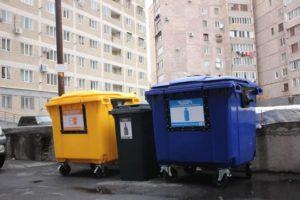 В Ереване устанавливают сортировочные контейнеры для мусора
