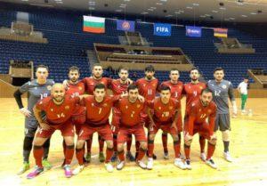 Сборная Армении по футзалу в гостях всухую обыграла команду Болгарии