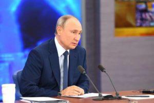 Путин коснулся проблем, возникших между Арменией и Азербайджаном после трехстороннего заявления