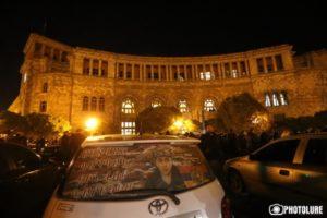 СНБ Армении рапортует о выявлении участников беспорядков в ночь на 10 ноября