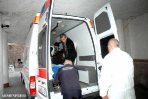 ДТП на  дороге Иджеван-Берд, есть пострадавшие