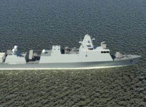 Израиль получил самый передовой военный корабль немецкого производства Saar-6