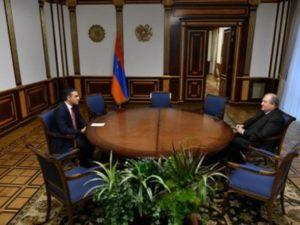 Президент и омбудсмен обсудили вопросы армянских военнопленных и заложниках