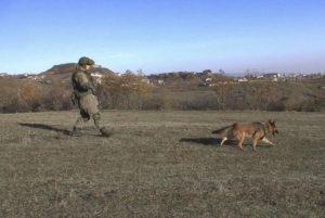 Российские миротворцы проводят разминирование окраин Степанакерта