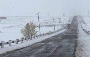 На некоторых участках дорог Армении туман и гололедица