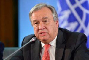 Генсек ООН призвал Армению и Азербайджан возобновить переговоры по Нагорному Карабаху