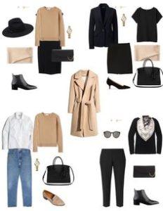 Секреты составления базового гардероба для девушки
