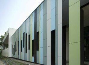 Композитные панели для фасада: особенности